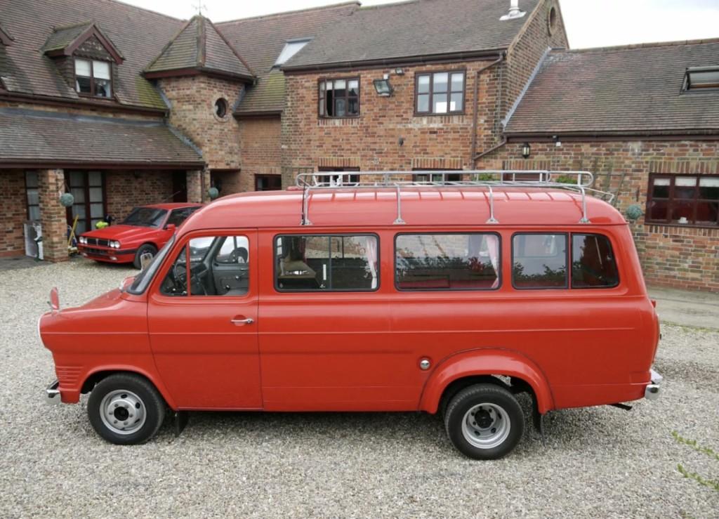 VW Camper Van 2017 >> 1968 Ford Transit Mk1 LWB V4 – £9995